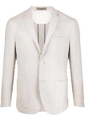 Corneliani classic tailored blazer - NEUTRALS