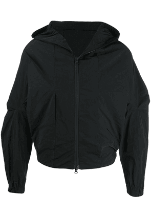 Côte & Ciel geometric hooded jacket - Black