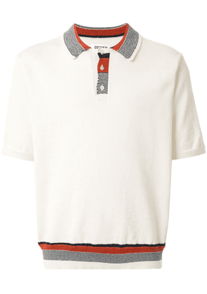 Coohem Good Summer knitted polo shirt - White