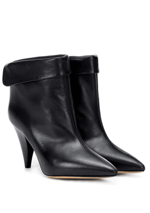 Lisbo leather ankle boots