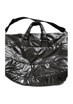 Chanel coco cocoon black polyester travel bag