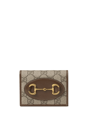 Gucci Gucci 1955 horsebit wallet - NEUTRALS