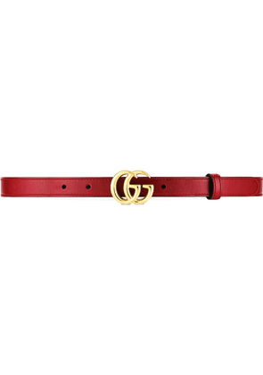 Gucci GG marmont belt - Red