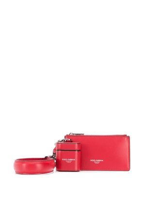 Dolce & Gabbana Airpods and pouch kit - Red