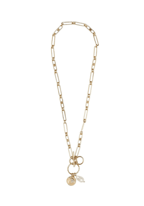 Burberry charms chain necklace - GOLD
