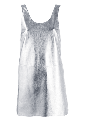 Prada sleeveless short dress - SILVER