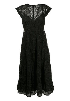 Pinko lace midi dress - Black