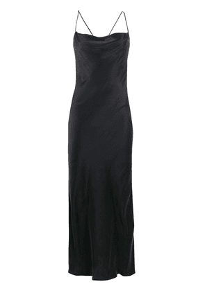 IRO Sugisto draped-neck cocktail dress - Black