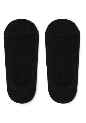Anonymous Ism - Mélange Knitted No-show Socks - Black