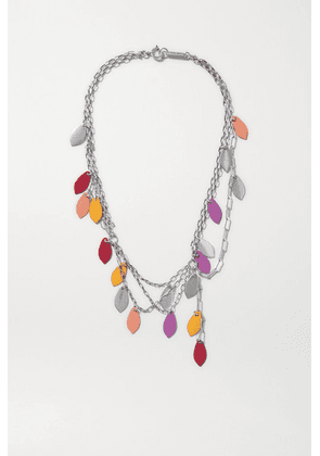 Isabel Marant - Silver-tone Necklace - Mustard