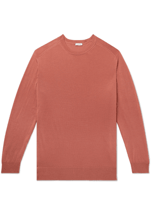 Caruso - Slim-fit Wool Sweater - Pink