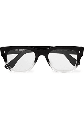 Cutler and Gross - Square-frame Acetate Optical Glasses - Black