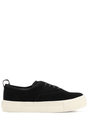 Mother Platform Suede Sneakers