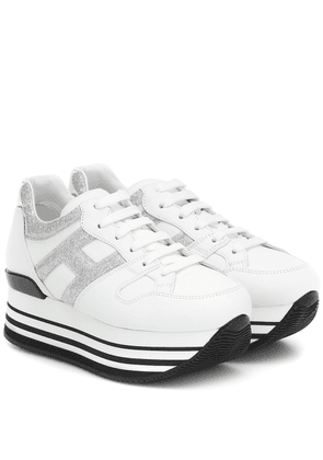 Maxi H222 leather sneakers