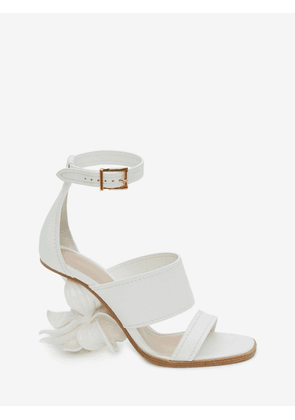 ALEXANDER MCQUEEN WEDGE SANDALS - Item 11834655