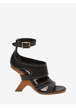 ALEXANDER MCQUEEN WEDGE SANDALS - Item 11834659
