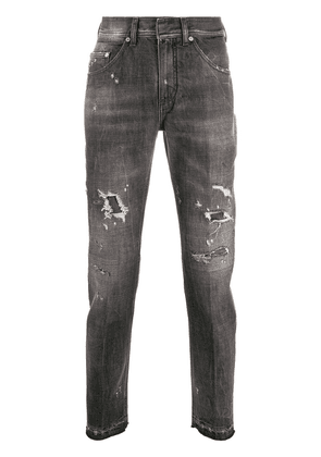 Neil Barrett distressed skinny jeans - Grey