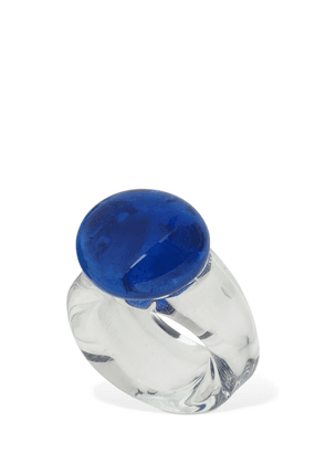 Circle Glass Ring