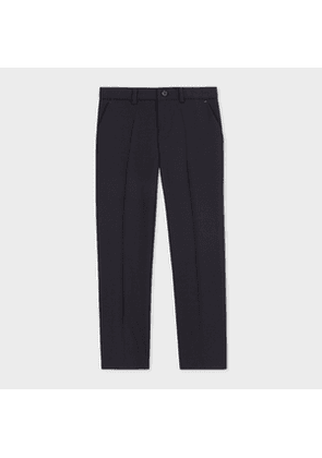 2-6 Years Navy 'A Suit To Smile In' Wool Trousers