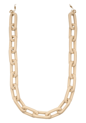 Gucci chunky glasses link chain - GOLD
