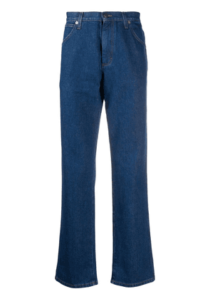 Gucci x Disney Mickey Mouse straight-leg jeans - Blue