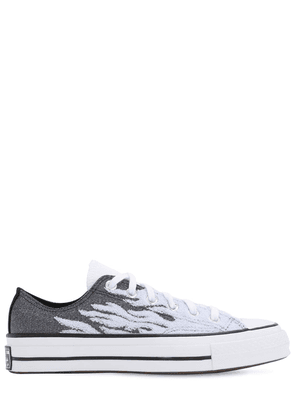 Chuck 70 Flames Canvas Sneakers