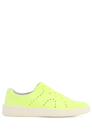 Lime Leather Sneakers