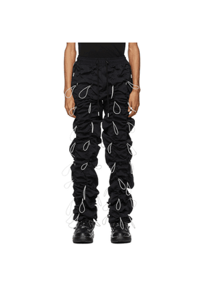 99% IS Black Gobchang Trousers