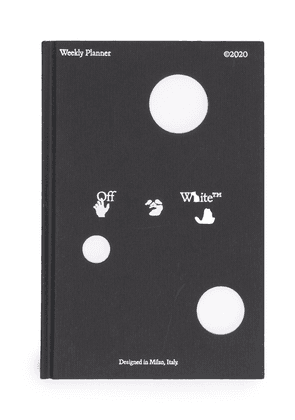 Off-White logo print 2020 weekly planner - Black