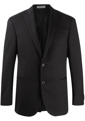 Corneliani single-breasted three-piece suit - Black