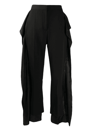 Burberry two-layer trousers - Black