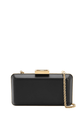 Evening Smooth Leather Clutch