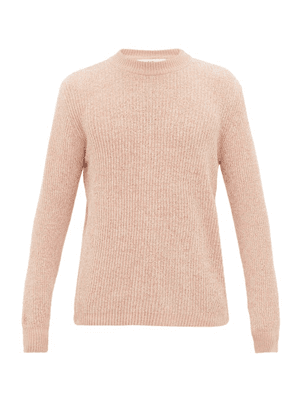 Séfr - Leth Rib-knitted Sweater - Mens - Pink