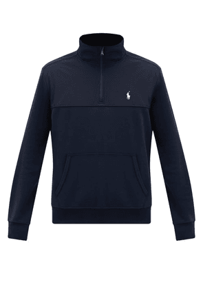 Polo Ralph Lauren - Logo-embroidered Shell-patch Sweatshirt - Mens - Navy