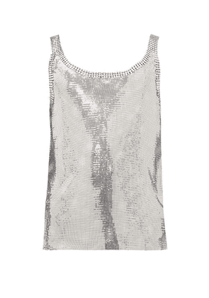 Paco Rabanne - Chainmail Vest - Mens - Silver