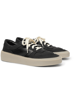 Fear of God - Leather, Nubuck and Mesh Sneakers - Men - Black