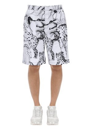All Over Print Timothy Cotton Shorts