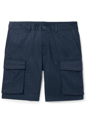 The North Face - Anticline Cotton-Blend Twill Cargo Shorts - Men - Blue
