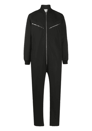 Bottega Veneta zipped boiler suit - Black