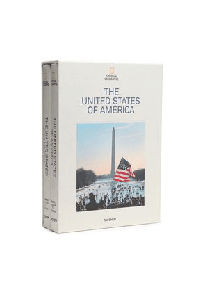 Taschen Set Of Two National Geographic: The United States Of America Hardcover Books Woman Multicolor Size --