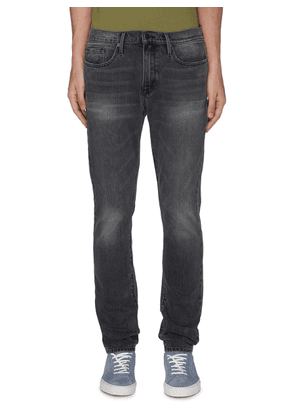 'L'Homme' Heavy Wash Skinny Jeans