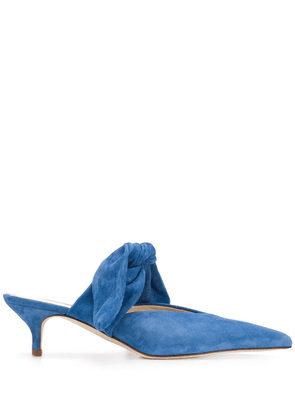 Gia Couture Bandana Girls mules - Blue