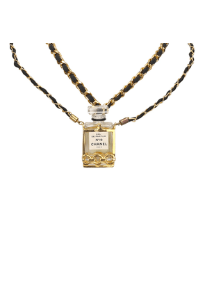 Chanel No.19 Perfume Bottle Necklace
