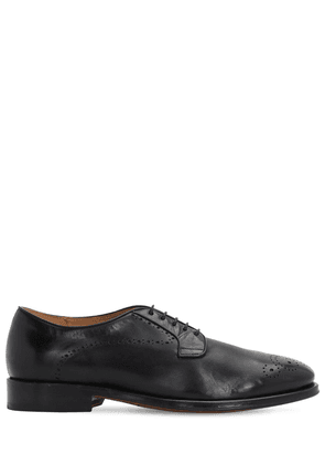 20mm Leather Lace-up Shoes