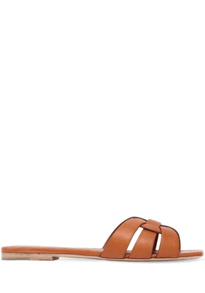 10mm Nu Pied Leather Sandals