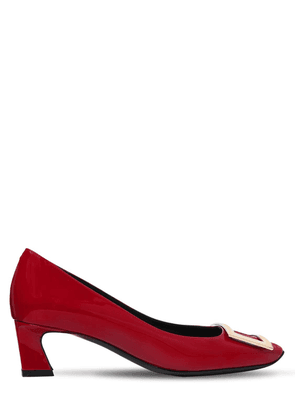 45mm Trompette Patent Leather Pumps