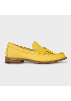 Men's Yellow Nubuck 'Lewin' Loafers