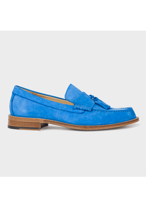 Men's Blue Nubuck 'Lewin' Loafers