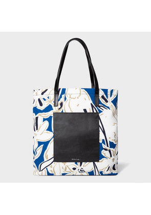 Women's Indigo 'Lucky Meadow' Tote Bag