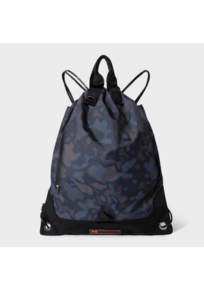 Men's 'Heat Map Camo' String Backpack